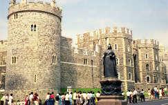 Windsori kastély Victóriával