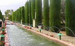 Cordoba, Alcazar parkja,Spanyolország