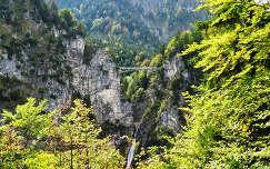 Németország- Neuschwanstein - Mária híd