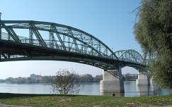 Esztergom - Párkány, összekötő Mária Valéria Híd   fotó: Kőszály
