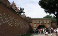 Kosciuszko szobor, Wawel, Krakkó