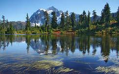 Highwood Lake, Mount Backer, USA