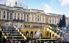 Petrodvoreci palota szökőkútjai, Oroszország