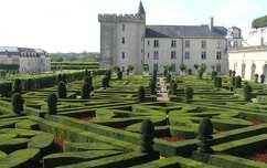 Villandry parkja, Loire-völgye, Franciaország