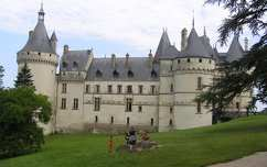 Chaumont kastély oldala