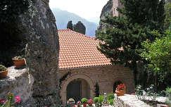 Női kolostor kert, Meteorák, Görögország