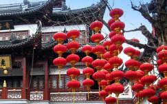 Sanghaj, teaház az óvárosban