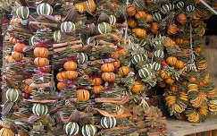 Fahéj,szárított narancs karácsonyi csomagok