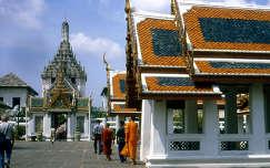 Királyi palota udvara, Bangkok
