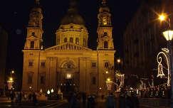 Budapesti Szent István Bazilika este