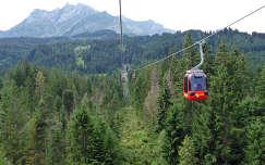 Libegő a Pilátus hegy és Kriens között , Svájc