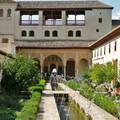 Granada Spain,Alhambra, Palacio de Generalife