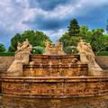 Cesky Krumlov, Vár parkja, Csehország