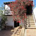 Lanzarotei parasztház lépcsője