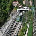 Barcelona, Montserrat. Railway to Monastery Montserrat