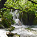 Horvátország, Plitvicei tavak, vízesés