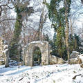 Tél a vácrátóti botanikus kertben