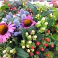 Nyári virágcsokor. Fotó: Csonki