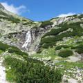 Szlovákia Magas-Tátra Fátyol-vízesés