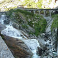 Az Ördög hídja Andermatt-ban, Svájc