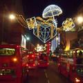 London, Oxford Street, karácsoonyi  hangulat