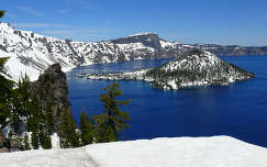 USA,Oregon,Crater Lake