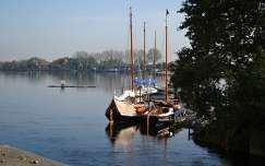 Spaarndam, Harbour, North-Holland