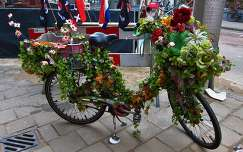 Amsterdam, a decorated bike