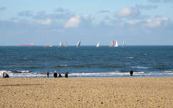 Scheveningen (Den Haag)  The Beach at Scheveningen