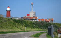 IJMUIDEN-NEDERLAND, Lighthouse and Semaphore