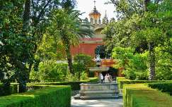 SEVILLA, SPAIN, JARDIN  REAL ALCAZAR