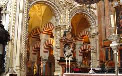 CÓRDOBA - SPAIN, Cathedral inside the Mosque