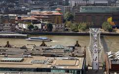 Shakespeare's Globe Theater, Millennium Bridge, London