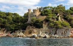 The Castle of Lloret de Mar