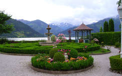 Zell am See  Grand Hotel parkja